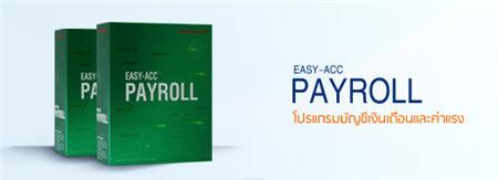 โปรแกรมบัญชีเงินเดือนและค่าแรง (payroll)  ได้รับการออกแบบและจัดลำดับการทำงานให้ง่ายและสะดวกต่อการใช้งาน ลักษณะการทำงานจะเป็นแบบ INTERACTIVE
