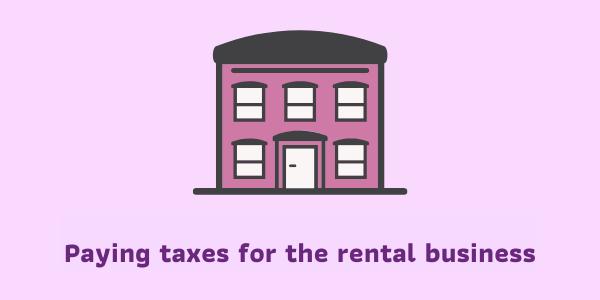 Article's picture of Paying taxes for the rental business