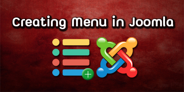 Creating Menu in Joomla